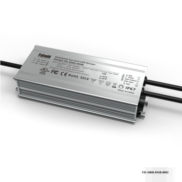 100W Rated LED Driver 3-an-1 Dimm.