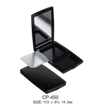 Square Cosmetic Empty Compact with Mirror
