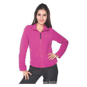 Women 100% polyester Fleece Jacket