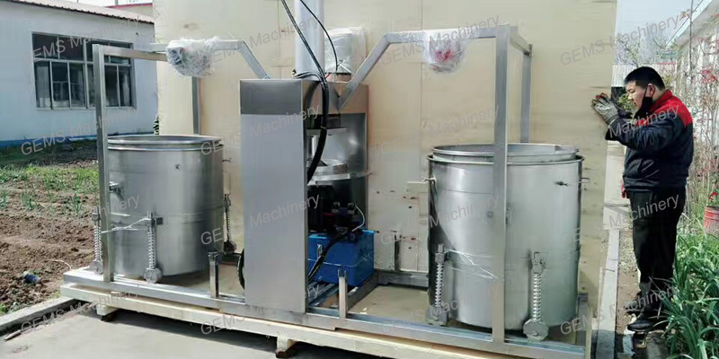 Cold Press Vegetable Juicer Machine