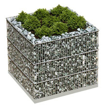 Galvanized welded gabion box wall