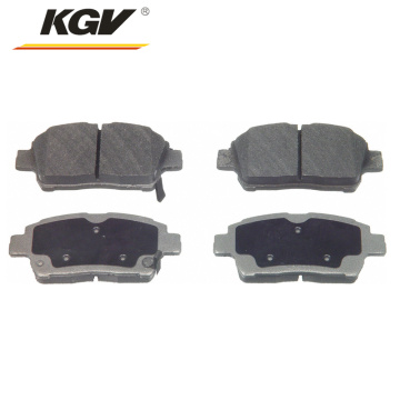 Auto parts brake pad d822 04465-0D020 for Toyota
