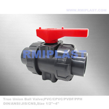 JIS PVC Ball Valve Socket End