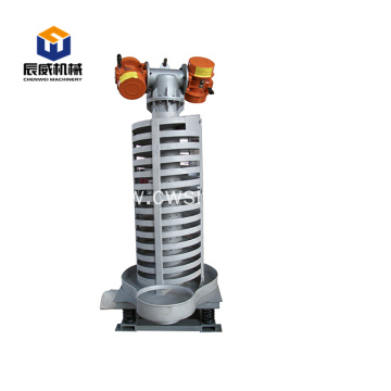 motorized spiral elevator for rice
