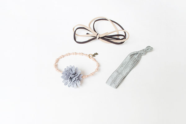 Flower Elastic Hair Rope