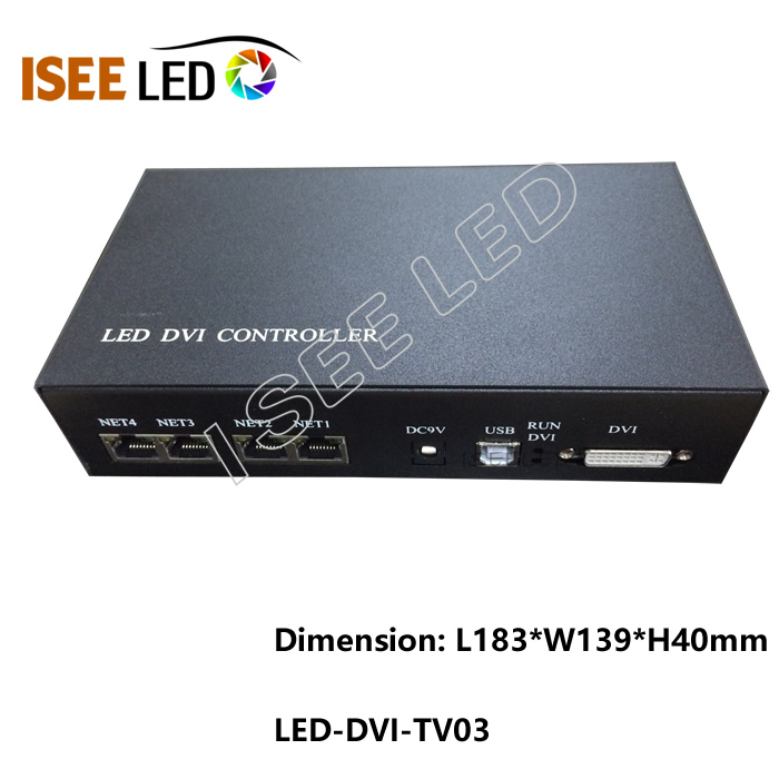 ISEELED DVI LED Controller Madrix Compatiable
