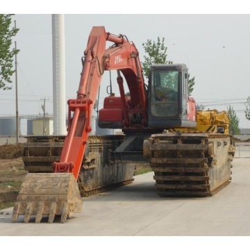 High-efficiency land-water excavator for sale