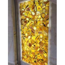 natural yellow agate  stone benefits slabs