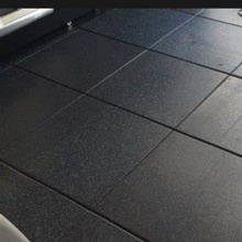 6 ride 6 rubber garage floor stable mat