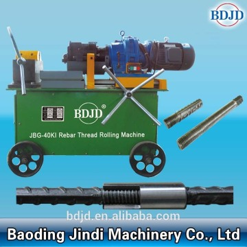 Threading machine barcode bolts