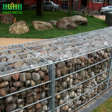 Good Quality Galvanized Gabion Box Wall