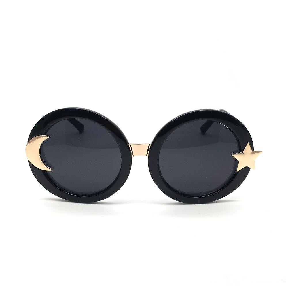 Popular Oversized Sunglasses For Woman Round Frame