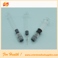 Glass packaging luer lock Prefilled syringe