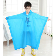 Colorful Waterproof EVA Poncho For Kids