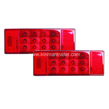 Red LED Tail Light For RV Trailer