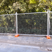 High Permance for Security Metal Fence metal iron wire welded portable fencing in construction supply to Bosnia and Herzegovina Manufacturers