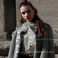 Hooded Spain Merino Shearling Overcoat For Women