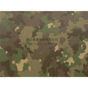 Camouflage Fabric with Waterproof and Anti-bacterial