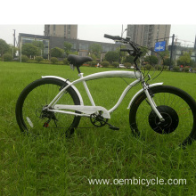 Wheel kits modified beach cruiser electric bike