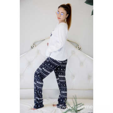 Light soft polar fleece pajama set