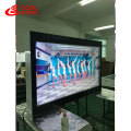 Floor standing double sided touch digital signage