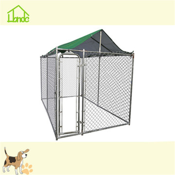 10x10x6 metal dog kennel with waterproof cover