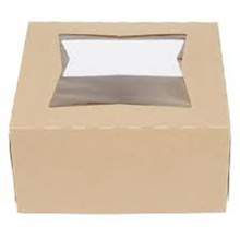Cheap price for Cake Box With Handle Custom kraft paper bakery cake boxes with window export to Russian Federation Wholesale