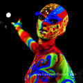 UV Glow Black-light Face and Body Paint