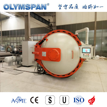 ASME standard composite curing autoclave