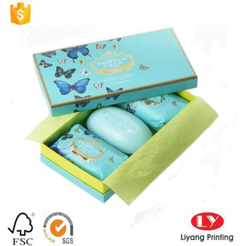 Popular Soap Paper Packaging Box with Lid