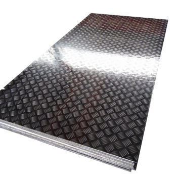 2.0mm-thick five ribbed aluminum plate