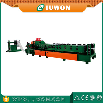 Hot sale for C Z Shaped Purlin Roll Form Machine IUWON Machinery Cuz Style Purlin Machine export to China Taiwan Exporter