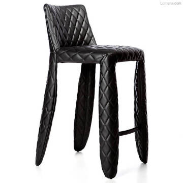 Modern leather bar stool popular club chair