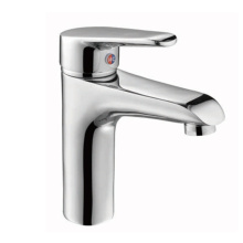 One-Handle Low Arc Bathroom Faucet Chrome