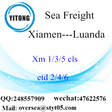 Xiamen Port LCL Consolidation To Luanda