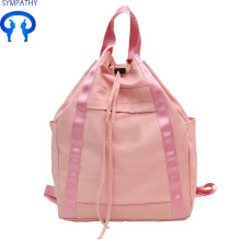 Hot-selling attractive for Black Nylon Bag Custom drawstring bucket campus student bag supply to South Korea Factory