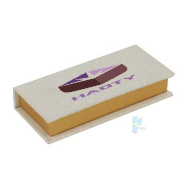 Luxury Custom Gold Glitter Eyelash Packaging Box