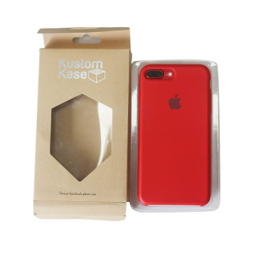 Paper Packaging Box for Kraft Paper Iphone Case