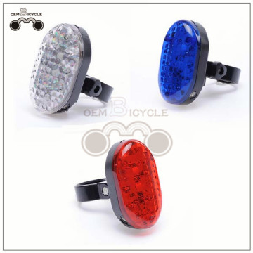 Bicycle LED projection laser light Mountain bike safety warning light New style bicycle tail light