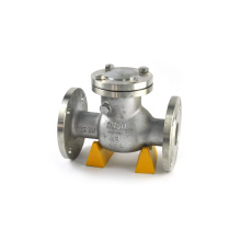 falnged connection stainless steel 200wog y-spring check valve 8mm