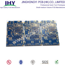"OEM Supply for High TG Printed Circuit Board Blue 6L TG180 ENIG 1u"" High TG PCB export to Germany Suppliers"