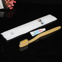 Hotel disposable toothbrush Custom printing LOGO