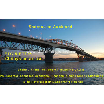 Shantou Shipping to Auckland