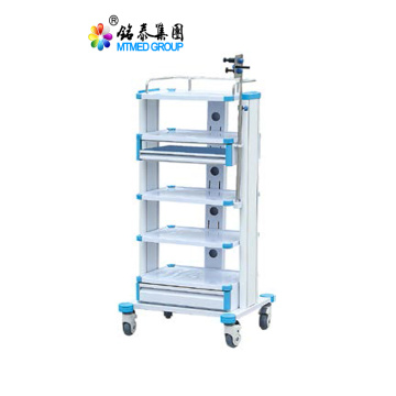 Clinic instrument cart trolley