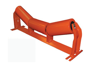 Idler Roller Components For Bulk Belt Roller Conveyor
