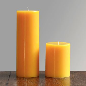 Natural Color and Beeswax Candles for Decoration