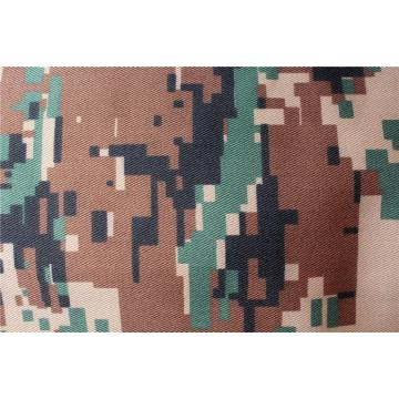 Military uniform fabric camouflage print