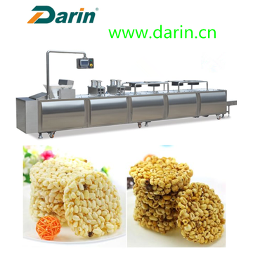 Excellent quality for for Cereal Bar Molding Machine,Cereal Machine,Cereal Bar Cutting Machine Manufacturer in China Extruded rice cereal bar compression molding machine export to Congo Suppliers