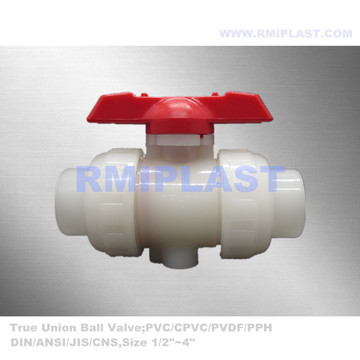 Plastic Ball Valve PVDF True Union End