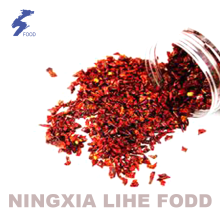 100% natural Red Chili powder dices slices